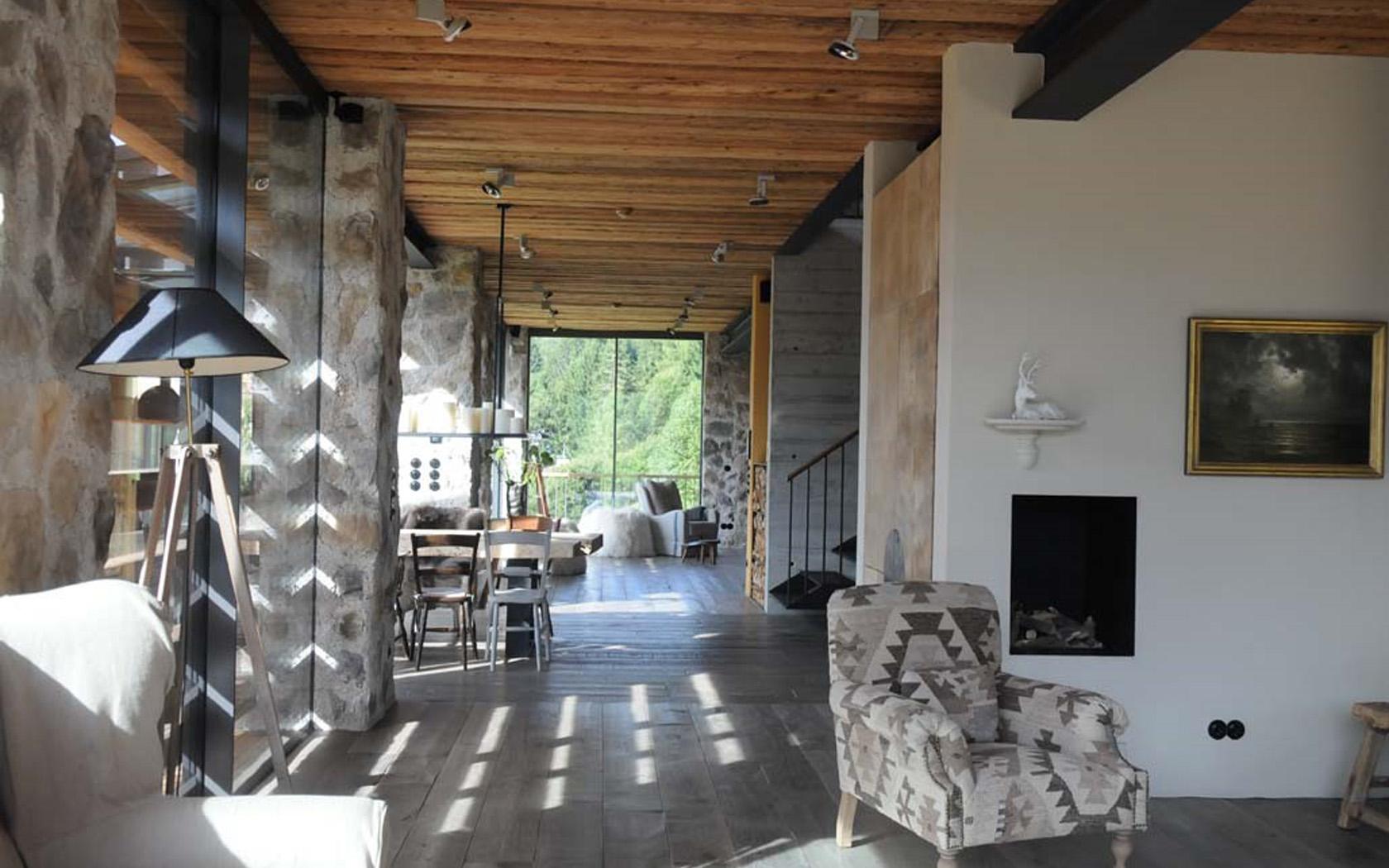 Wohnhaus in den Alpen 14