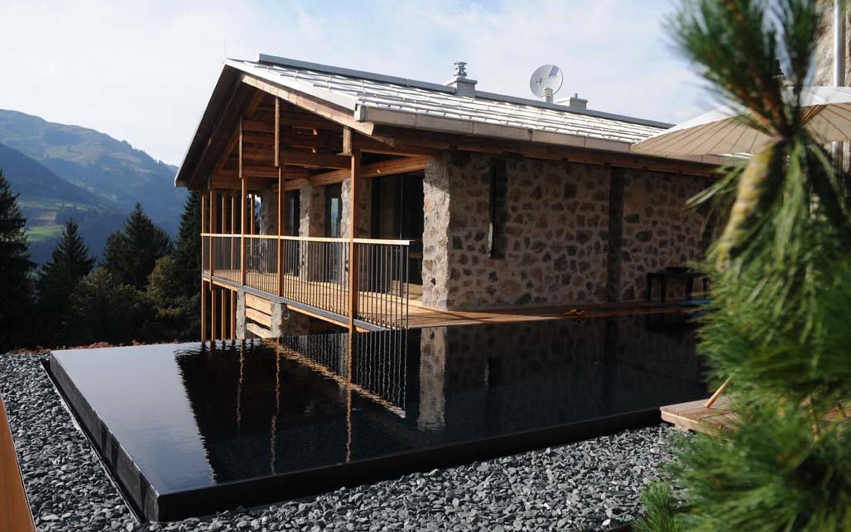 Wohnhaus in den Alpen 15