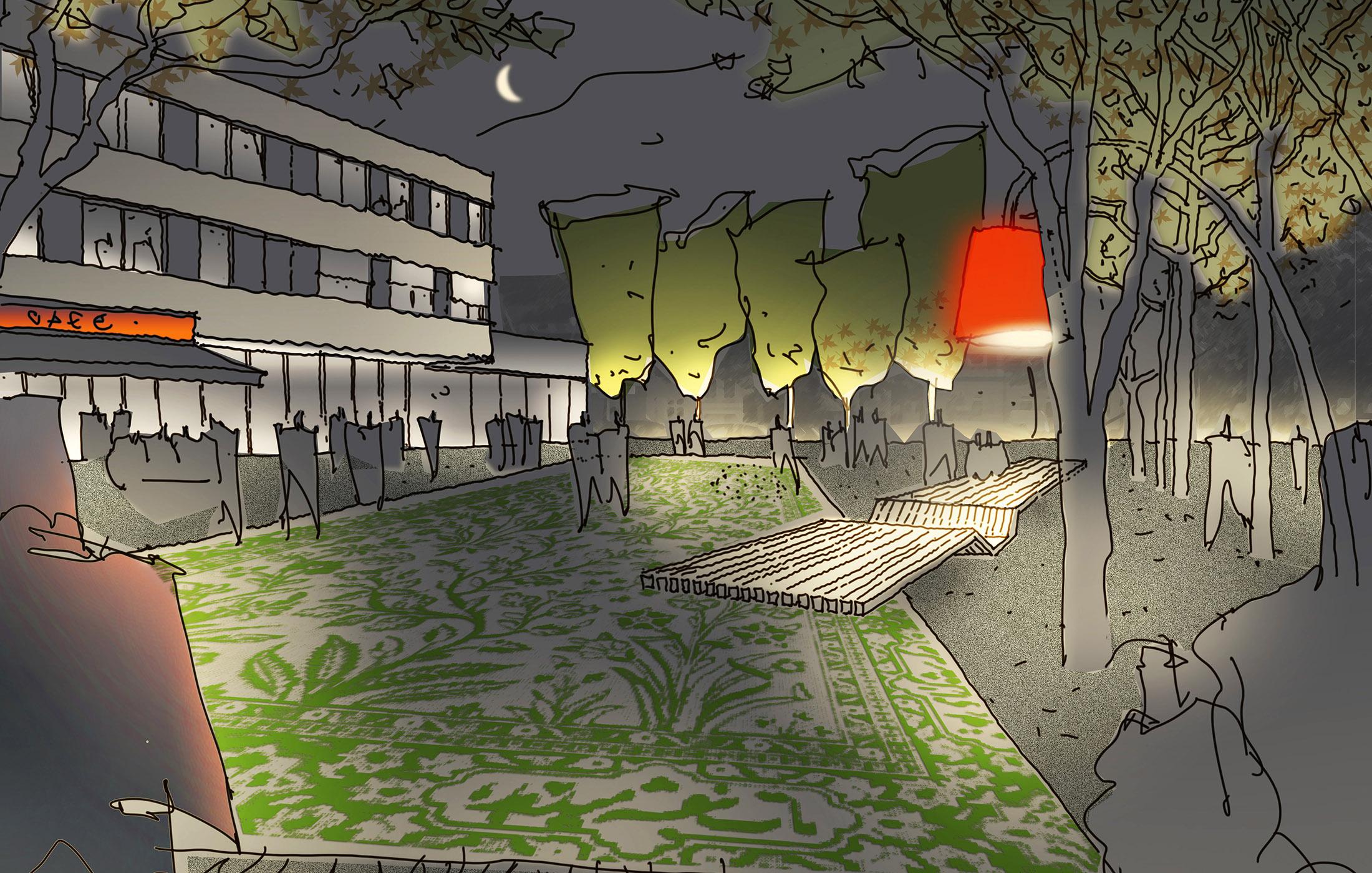 Marktplatz Dortmund Wettbewerb 01